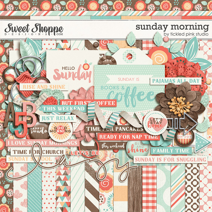 Sunday Morning by Tickled Pink Studio