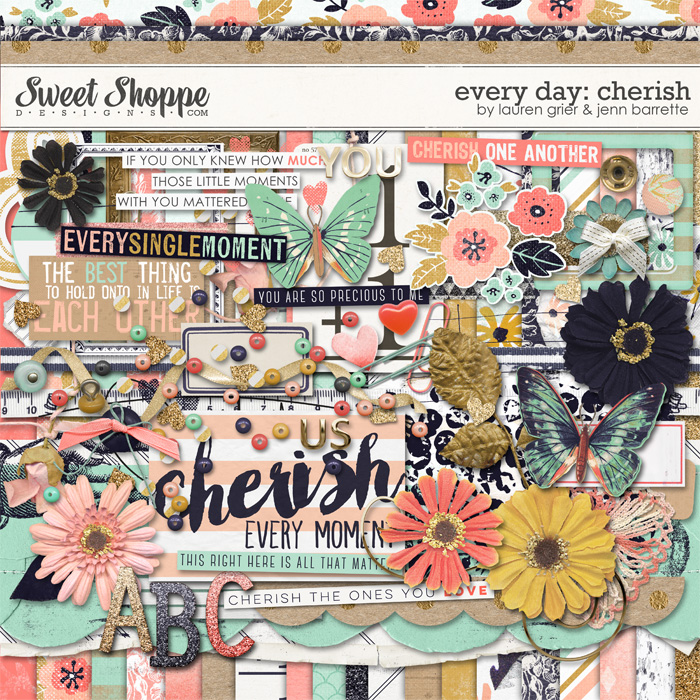 Every day: Cherish by Lauren Grier & Jenn Barrette