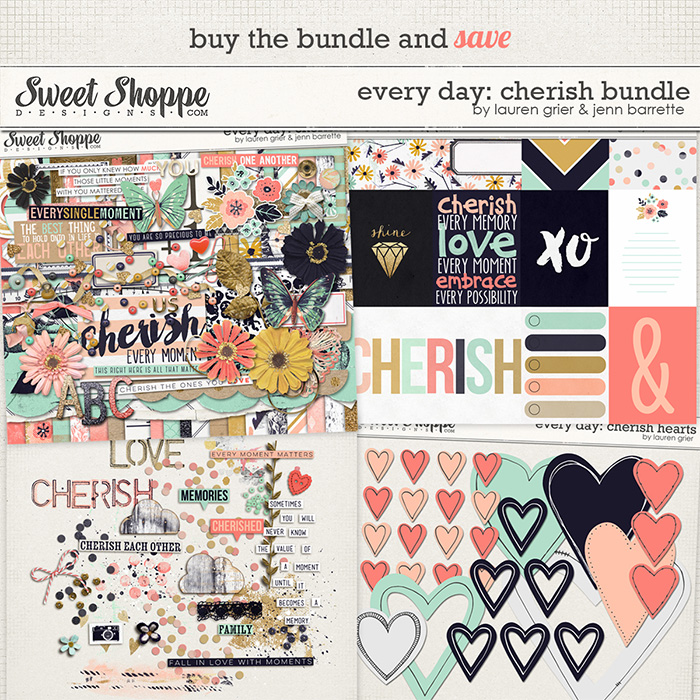 Every day: Cherish Bundle by Lauren Grier & Jenn Barrette