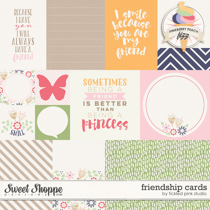 Friendship Cards by Tickled Pink Studio