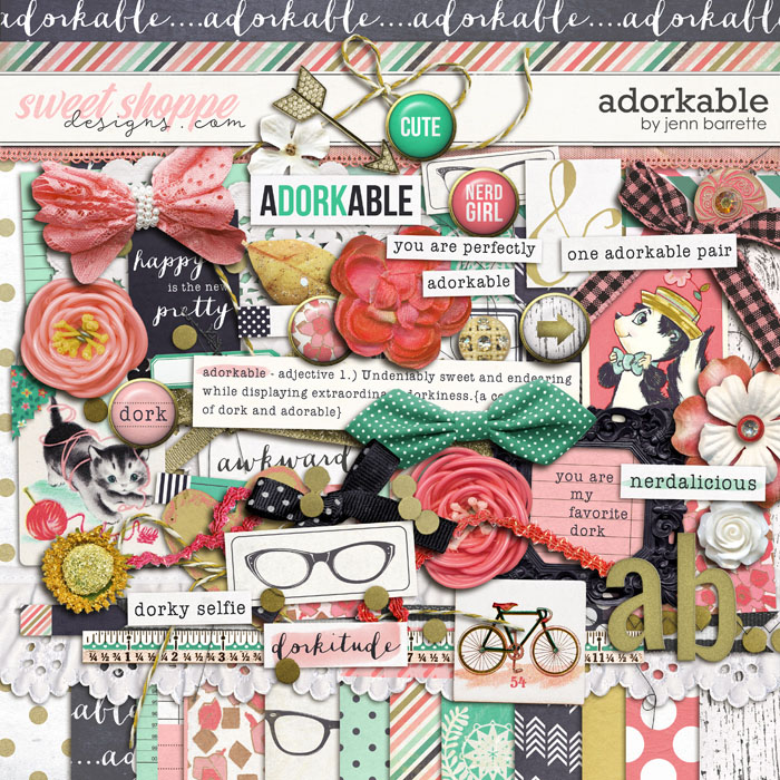 Adorkable by Jenn Barrette