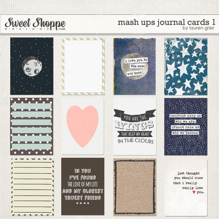 Mash Ups: Journal Cards 1 by Lauren Grier
