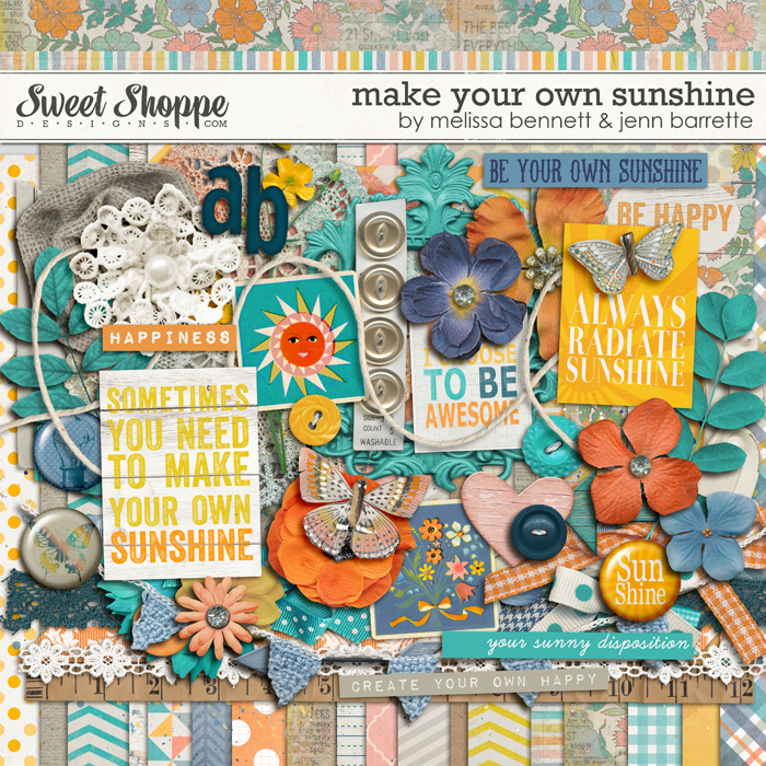 Make Your Own Sunshine by Jenn Barrette & Melissa Bennett