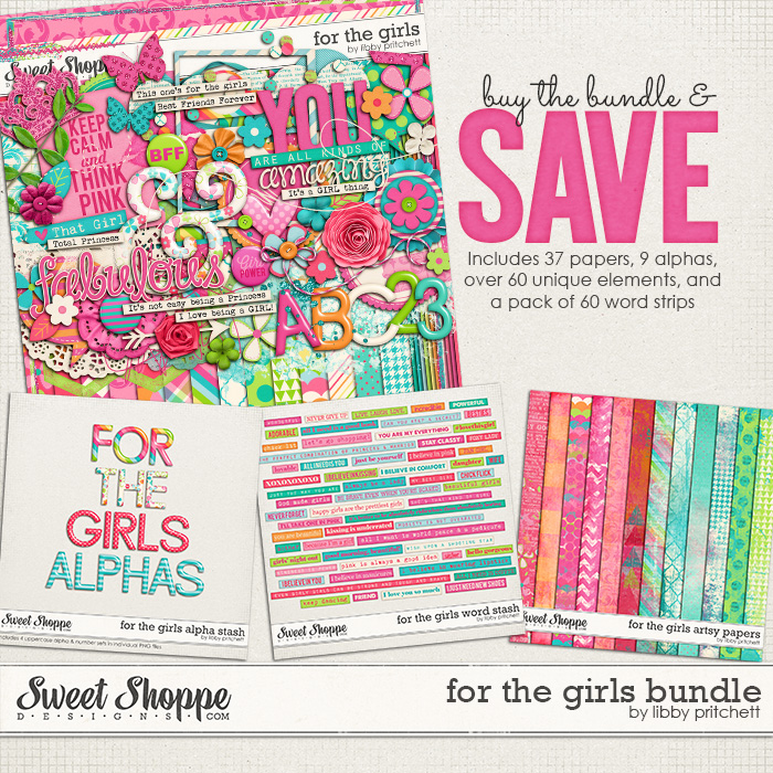 For The Girls Bundle by Libby Pritchett