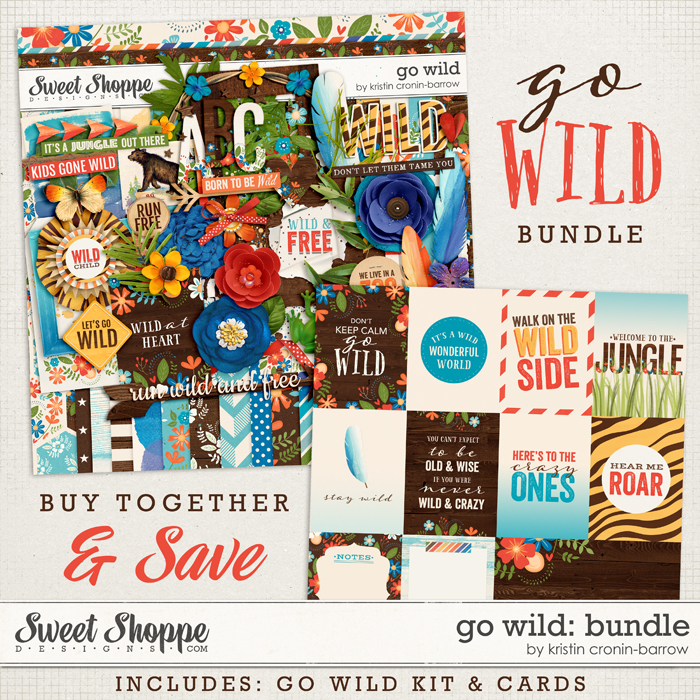 Go Wild: Bundle by Kristin Cronin-Barrow