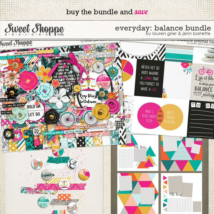 everyday: balance bundle by lauren grier & jenn barrette