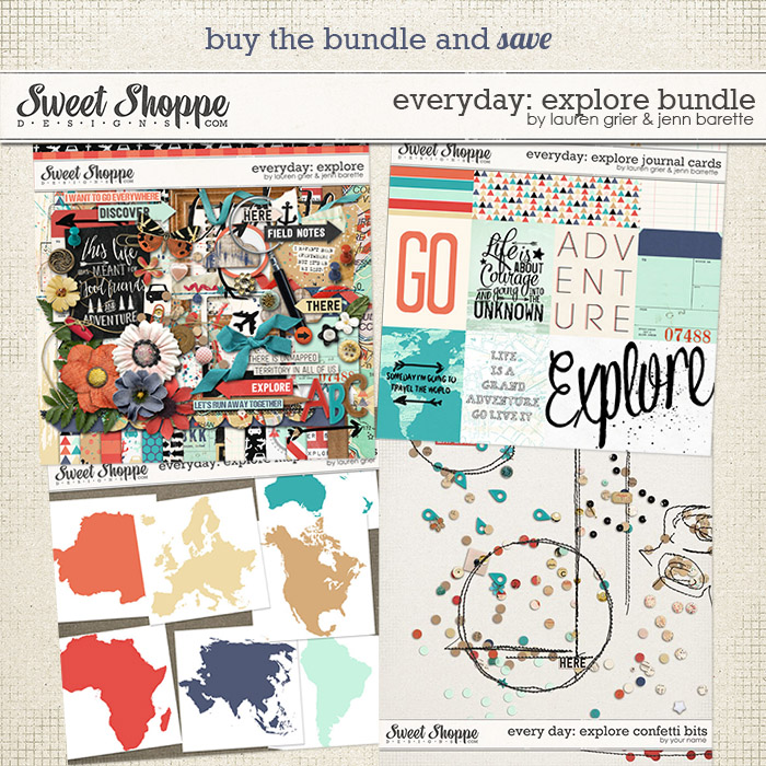 Everyday: Explore Bundle by Lauren Grier & Jenn Barrette