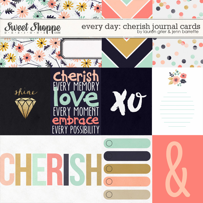 Every day: Cherish Journal Cards by Lauren Grier & Jenn Barrette