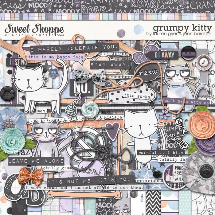 Grumpy Kitty by Lauren Grier and Jenn Barrette