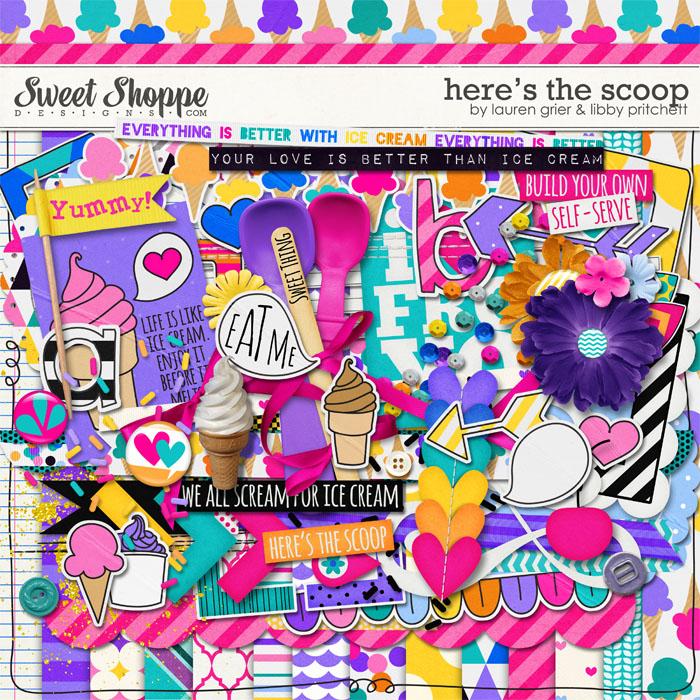 Here's The Scoop by Lauren Grier & Libby Pritchett
