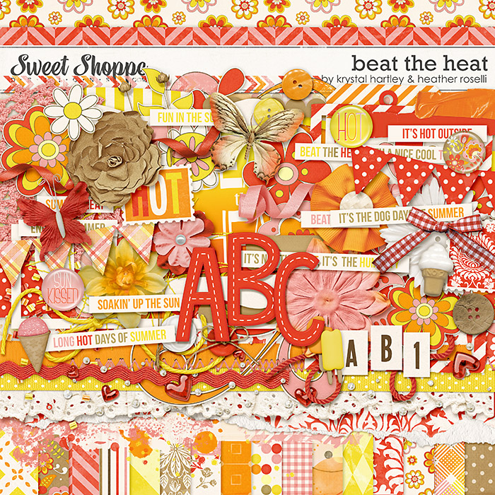 Beat the Heat by Krystal Hartley and Heather Roselli