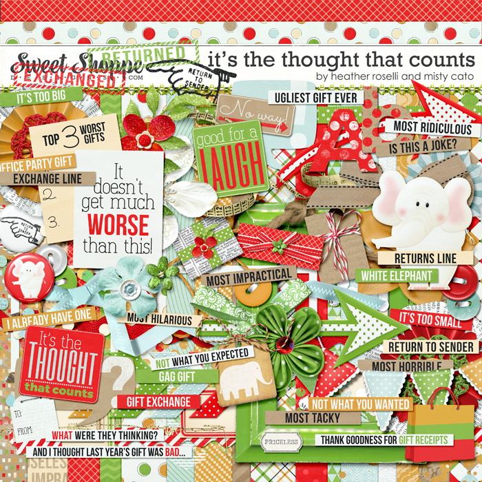 It's the Thought That Counts by Heather Roselli and Misty Cato