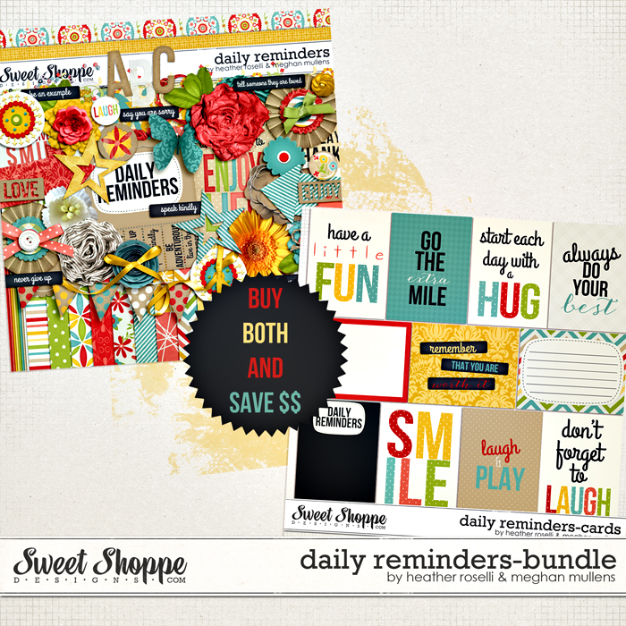 Daily Reminders: Bundle by Heather Roselli & Meghan Mullens