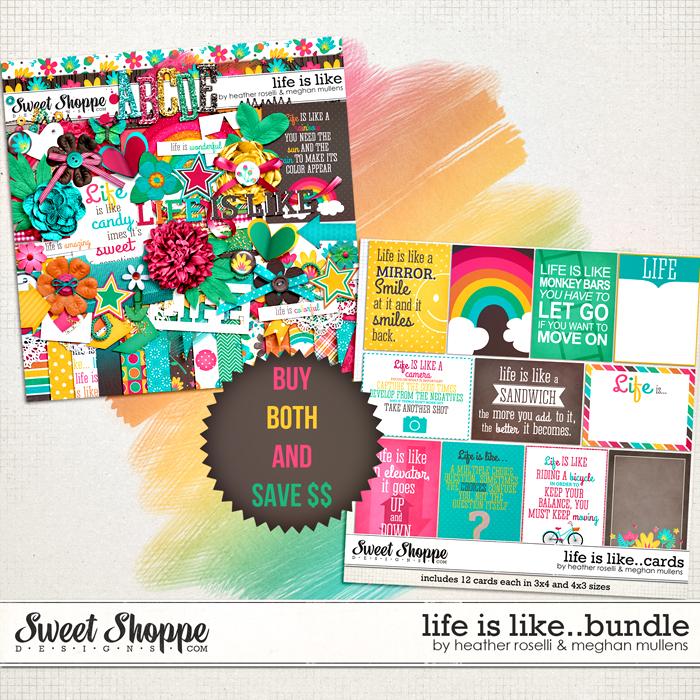 Life Is Like: Bundle by Heather Roselli & Meghan Mullens