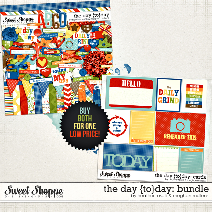 The Day {TO}Day Bundle by Heather Roselli & Meghan Mullens