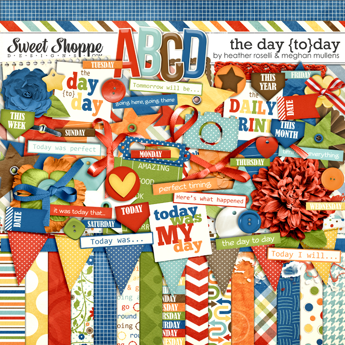 The Day {TO}Day by Heather Roselli & Meghan Mullens