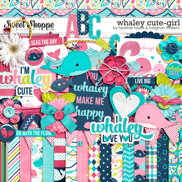 Whaley Cute-Girl by Heather Roselli & Meghan Mullens