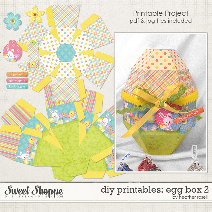 DIY Printables: Egg Box 2 by Heather Roselli