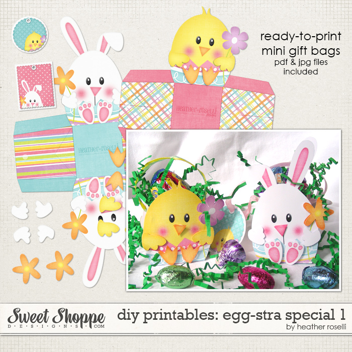 DIY Printables: Egg-stra Special 1 by Heather Roselli