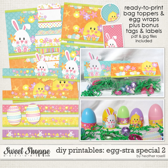 DIY Printables: Egg-stra Special 2 by Heather Roselli