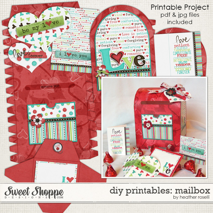 DIY Printables: Mailbox by Heather Roselli