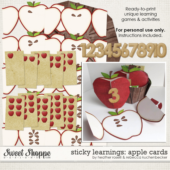 Sticky Learnings: Apple Cards by Heather Roselli & Rebecca Kuchenbecker