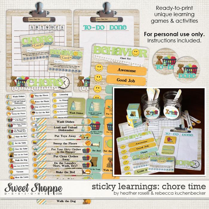 Sticky Learnings: Chore Time by Heather Roselli & Rebecca Kuchenbecker