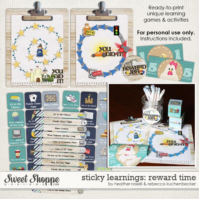 Sticky Learnings: Reward Time by Heather Roselli & Rebecca Kuchenbecker