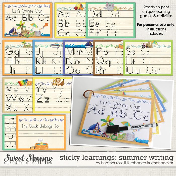 Sticky Learnings: Summer Writing by Heather Roselli & Rebecca Kuchenbecker