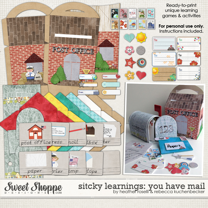 Sticky Learnings: You Have Mail by Heather Roselli & Rebecca Kuchenbecker