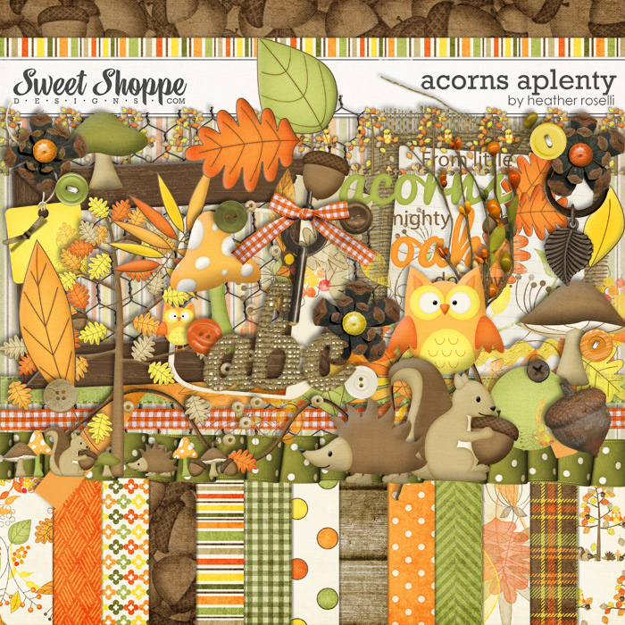 Acorns Aplenty by Heather Roselli