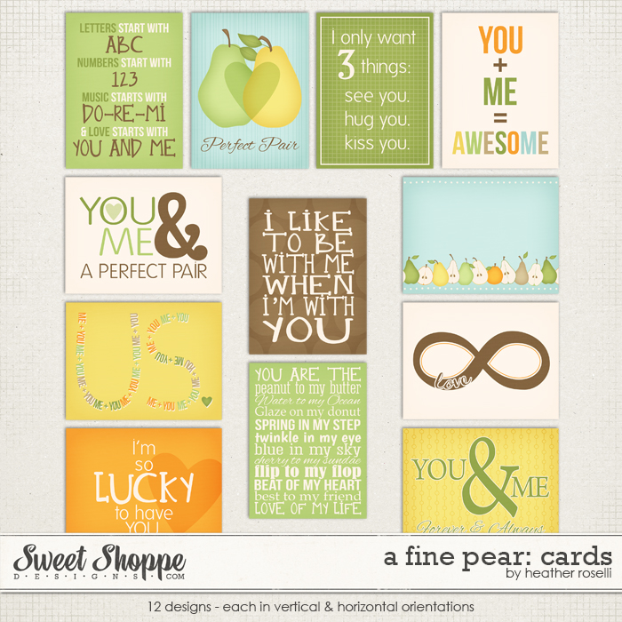 A Fine Pear: Cards by Heather Roselli