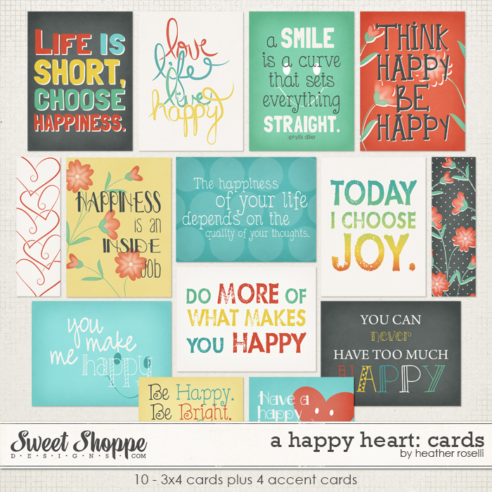 A Happy Heart: Cards by Heather Roselli