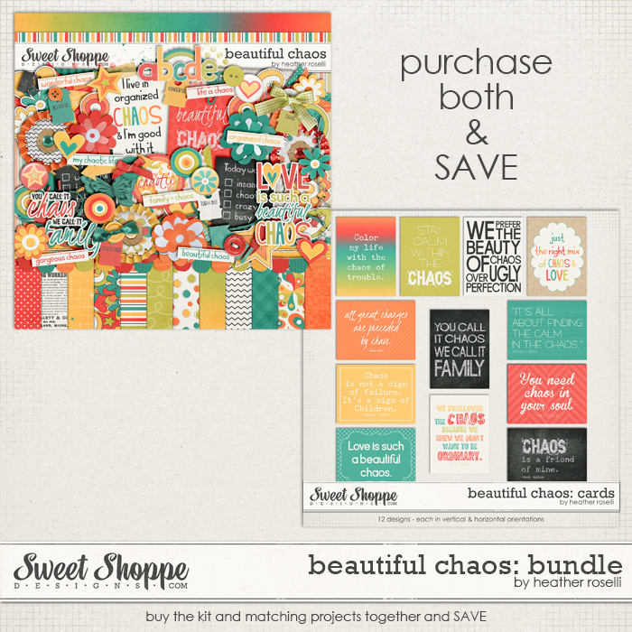 Beautiful Chaos: Bundle by Heather Roselli
