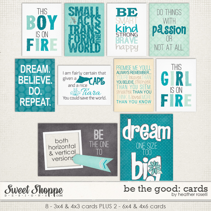Be The Good: Cards by Heather Roselli