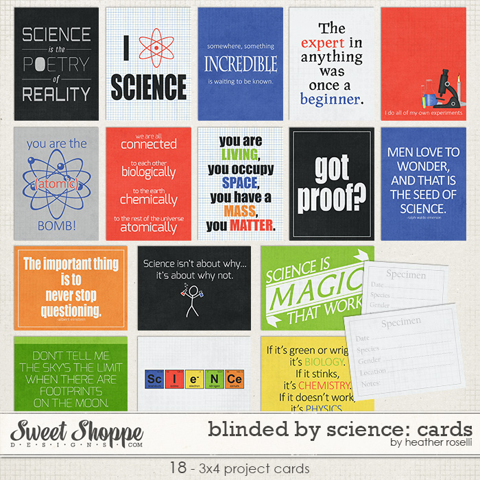 Blinded By Science: Cards by Heather Roselli