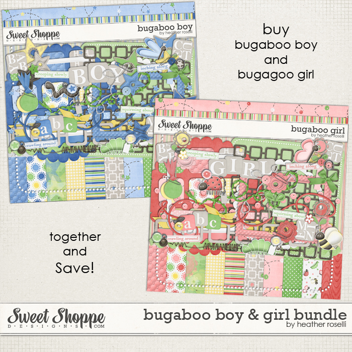 Bugaboo Boy and Girl Bundle by Heather Roselli
