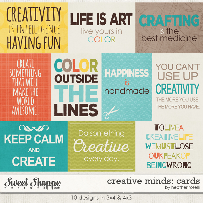 Creative Minds: Cards by Heather Roselli