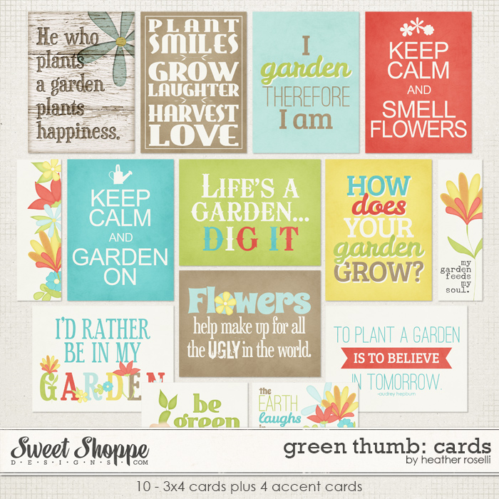 Green Thumb: Cards by Heather Roselli