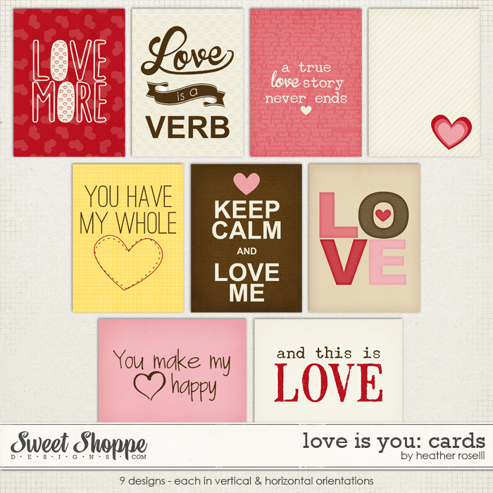 Love Is You: Cards by Heather Roselli