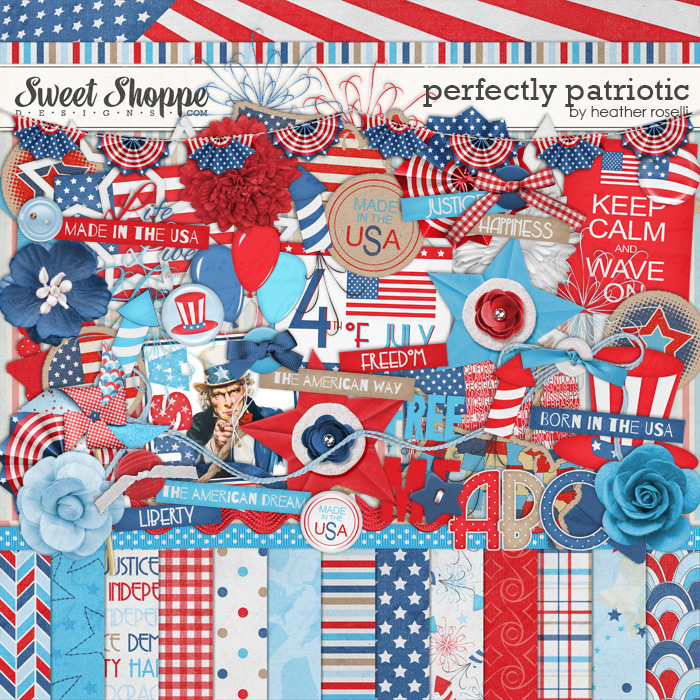 Perfectly Patriotic by Heather Roselli