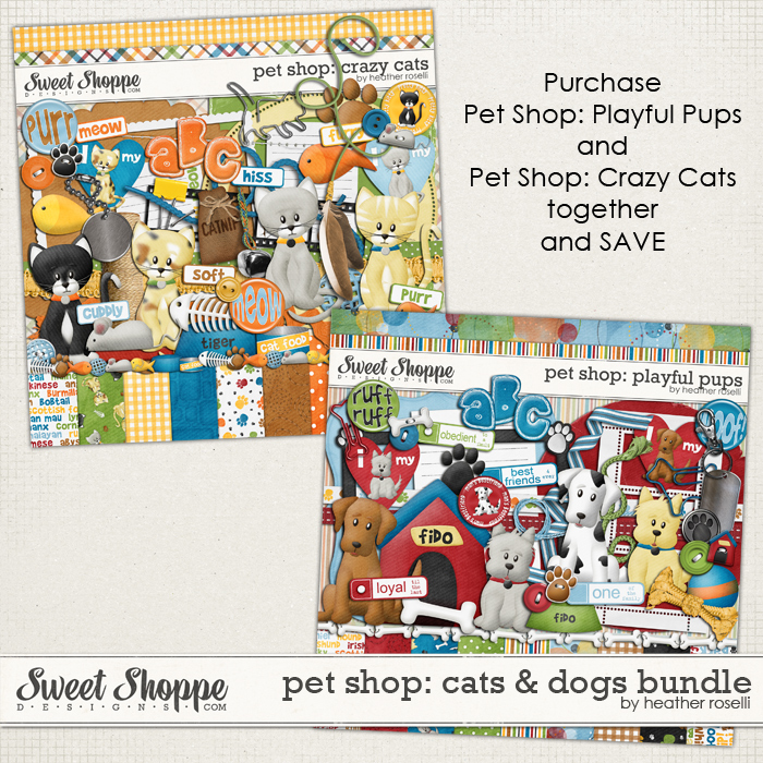 Pet Shop: Dogs and Cats by Heather Roselli