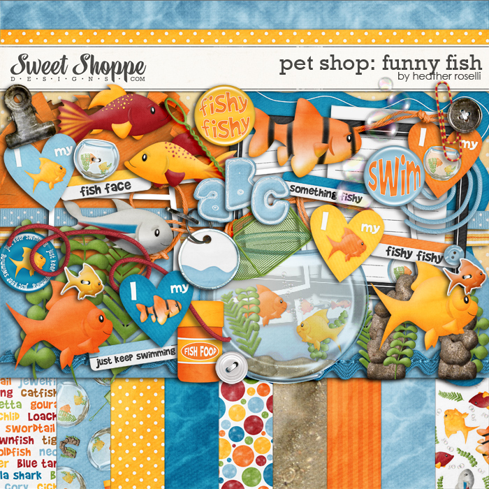 Pet Shop: Funny Fish by Heather Roselli