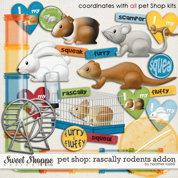 Pet Shop: Rascally Rodents by Heather Roselli