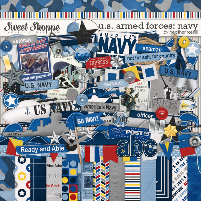 U.S. Armed Forces: Navy by Heather Roselli