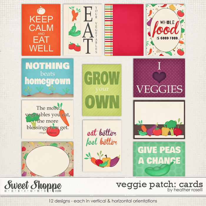 Sweet shoppe designs making your memories sweeter for Veggie patch design