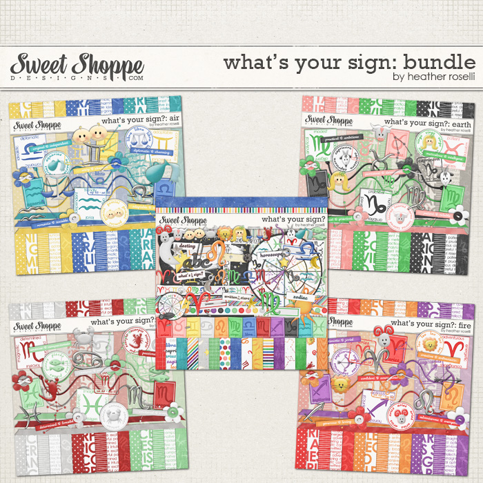 What's Your Sign?: Bundle by Heather Roselli