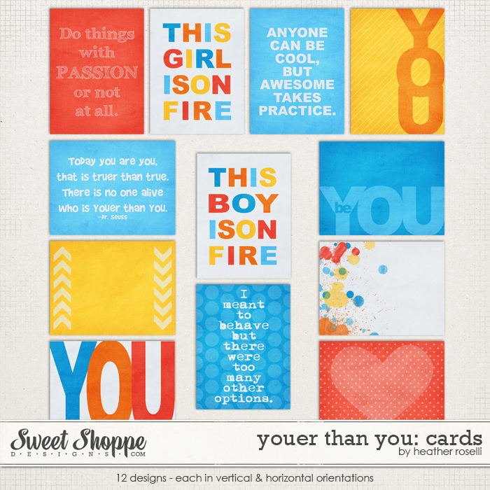 Youer Than You: Cards by Heather Roselli