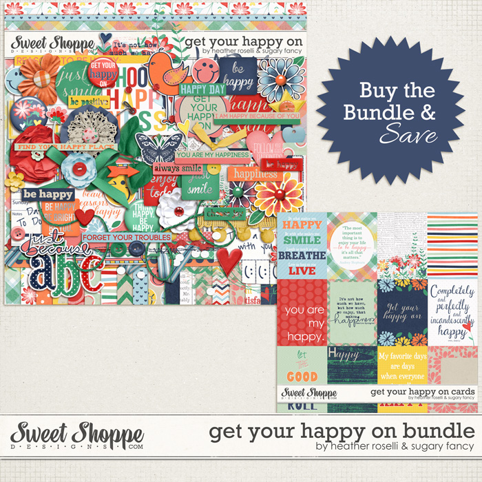 Get Your Happy On: Bundle by Heather Roselli & Sugary Fancy
