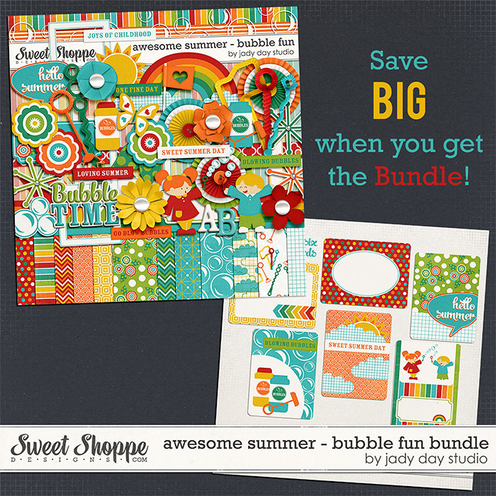 Awesome Summer - Bubble Fun Bundle by Jady Day Studio